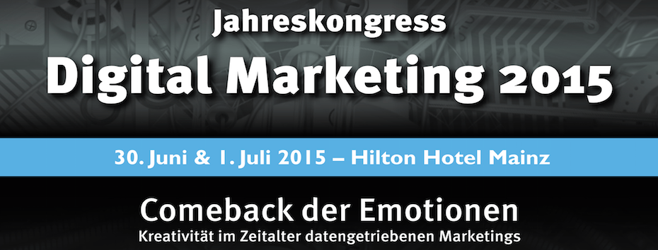 HB Jahreskongress Digital Marketing 2015