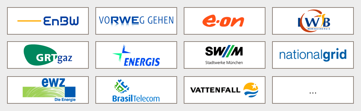 Unsere Kunden in der Energiewirtschaft