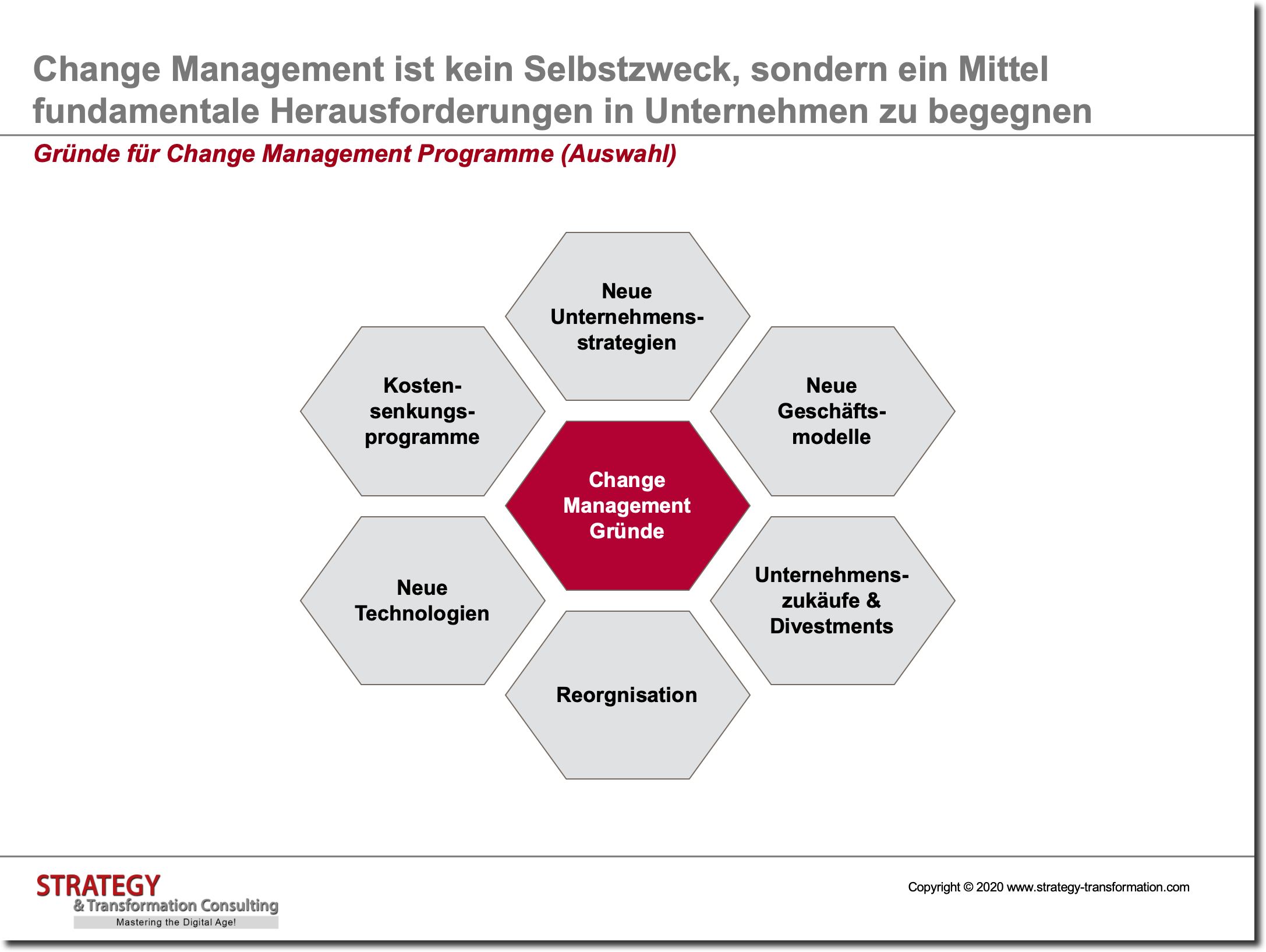 Change Management_Change Gründe