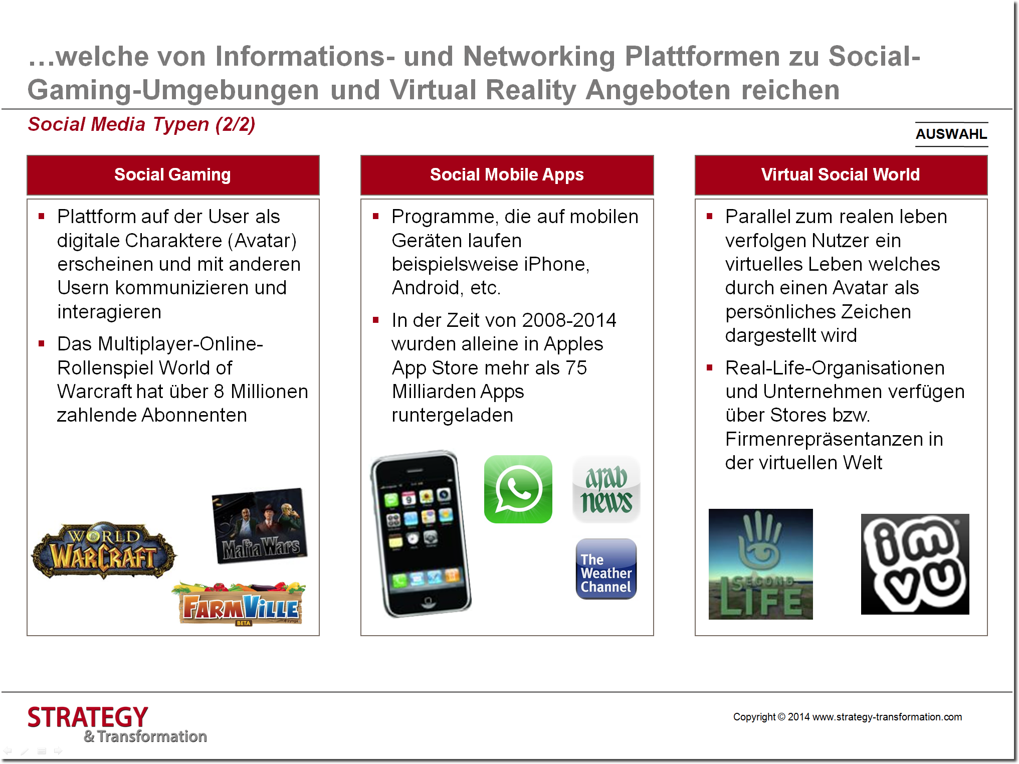 Social Media verstehen_Social Media Typen_2 von 2