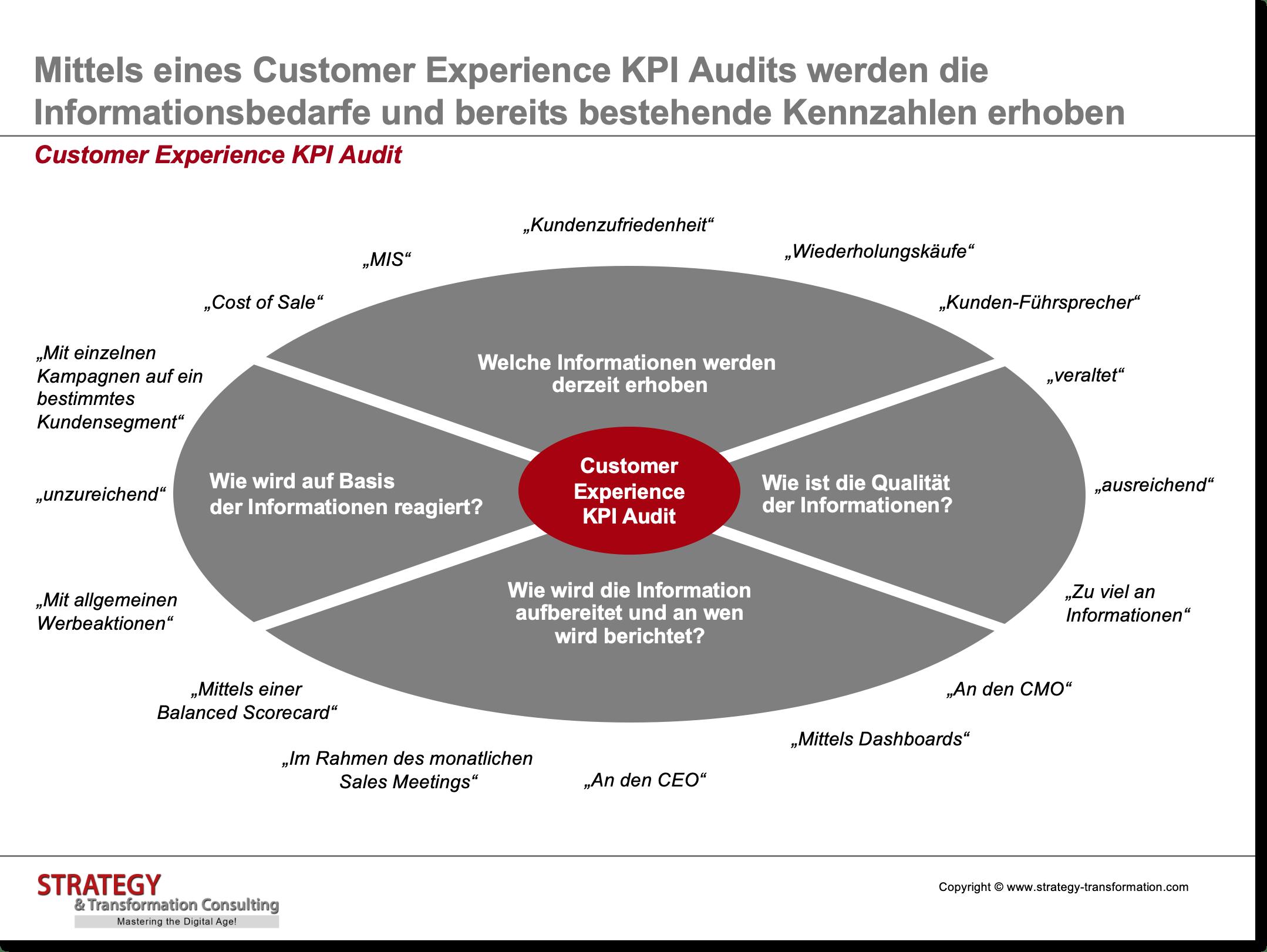 Customer Experience Management_Kennzahlen Audit